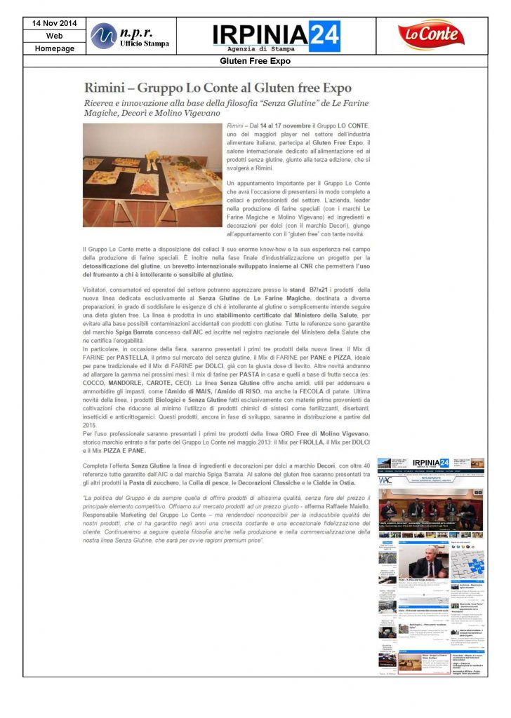 2014.11.14 - IRPINIA24it