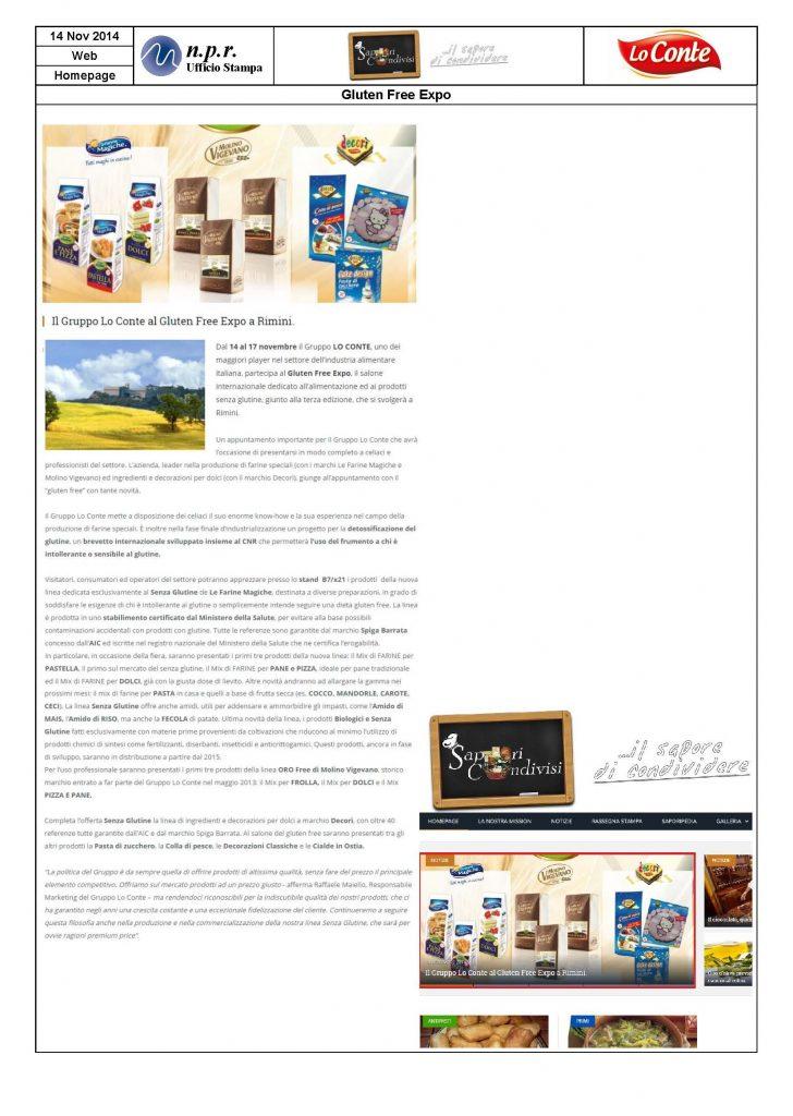 2014.11.14 - SAPORICONDIVISIit