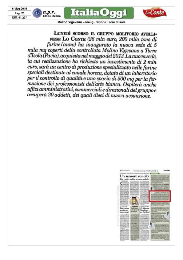 2015.05.06 - ITALIA OGGI