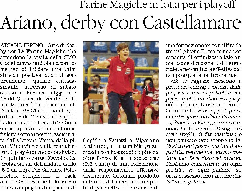 29.02.2016_Il Quotidiano del Sud Irpinia