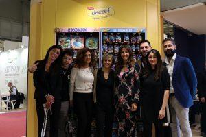 Lo staff del Gruppo Lo Conte con Benedetta Parodi